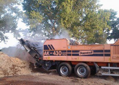 zpracování biomasy